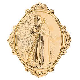 Médaillon confrérie laiton St François de Sales s2