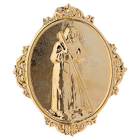 Confraternity Medal, Saint Francis of Sales (measuring 14x12cm). s1