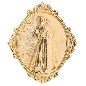 Confraternity Medal, Saint Francis of Sales (measuring 14x12cm). s2
