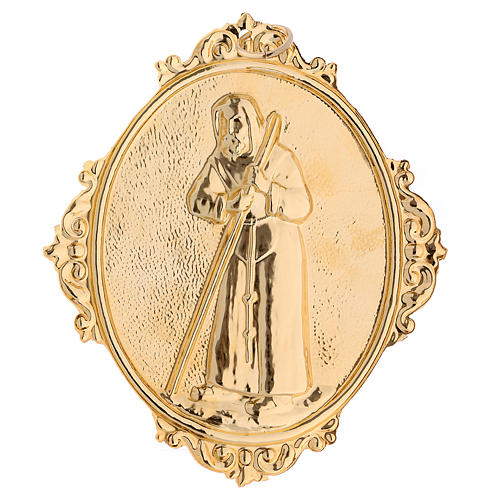 Confraternity Medal, Saint Francis of Sales (measuring 14x12cm). 2