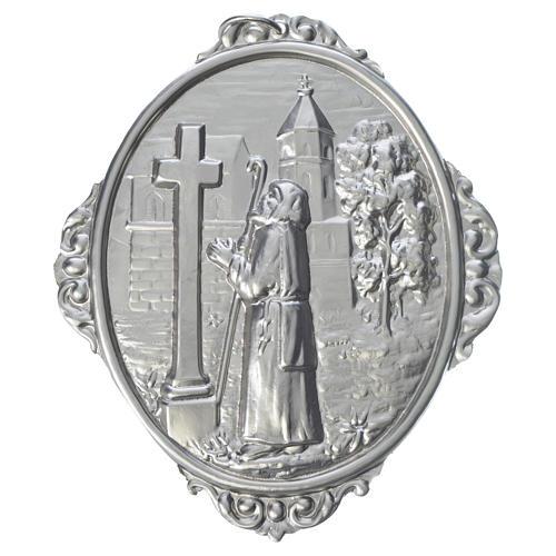 Medaglione per confraternita San Francesco di Sales in preghiera 1