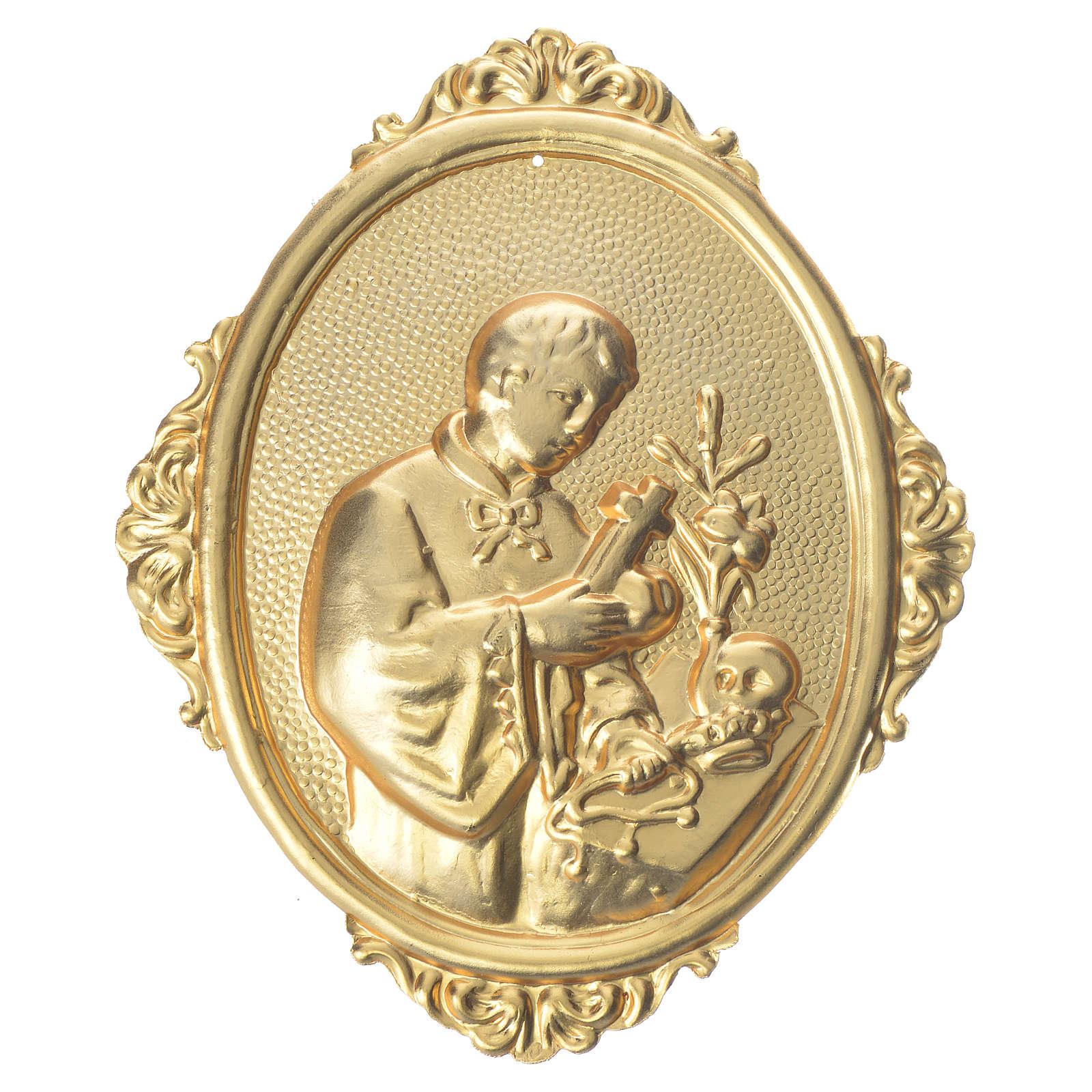 Medaglione per confraternite San Luigi mezzo busto 3