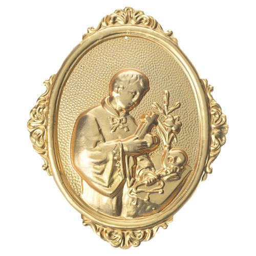 Medaglione per confraternite San Luigi mezzo busto 1