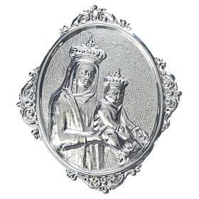 Médaillon confrérie religieuse Vierge à l'Enfant s1