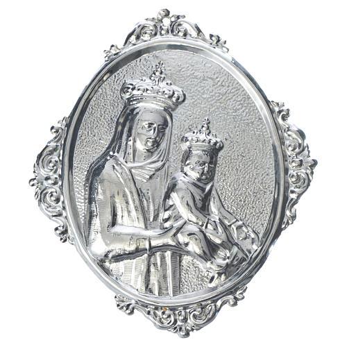 Médaillon confrérie religieuse Vierge à l'Enfant 1
