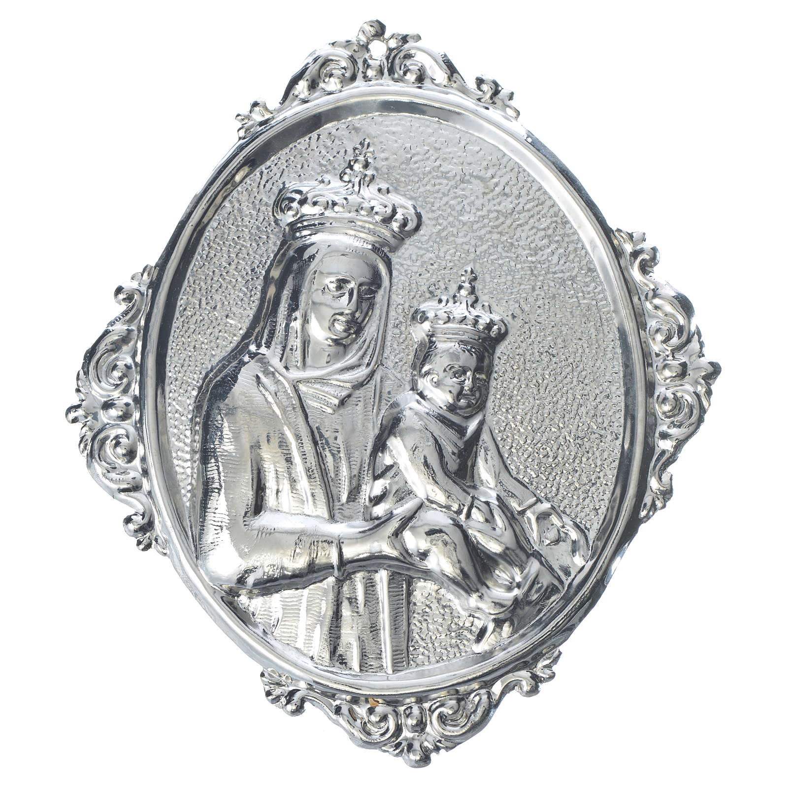 Confraternity Medal, Our Lady and baby Jesus 3