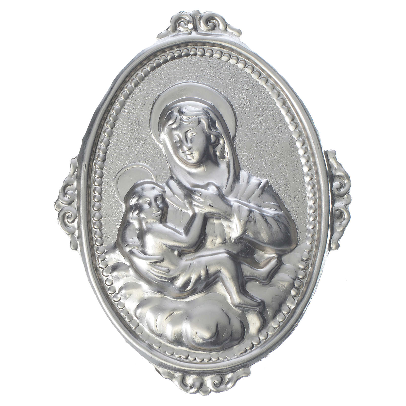 Confraternity Medal, Our Lady of Graces and baby 3