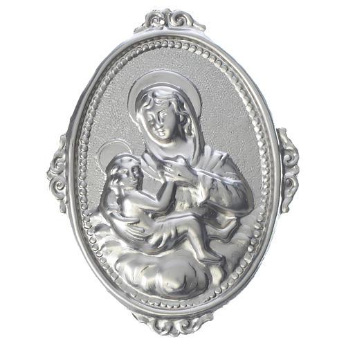 Medaglione per confraternite Madonna delle Grazie con bimbo 1