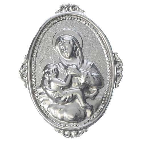 Confraternity Medal, Our Lady of Graces and baby 1