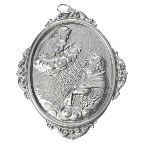 Medaglione confraternita Sant'Antonio con Madonna Addolorata