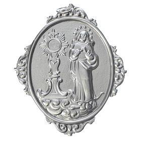 Médaille de confrérie Immaculée et Ostensoir romain s1