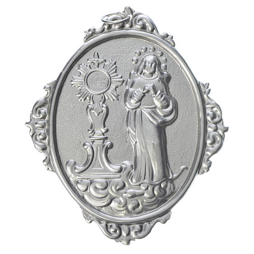 Médaille de confrérie Immaculée et Ostensoir romain 1
