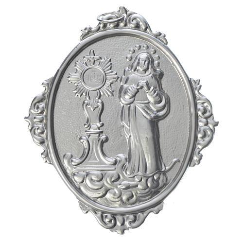 Medaglione confraternite Immacolata Concezione e Ostensorio Roma 1