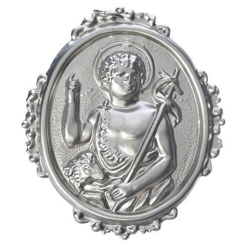 Medaglione per confraternite San Giovanni Battista 1