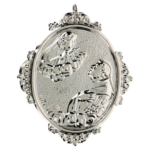 Medallón cofradías S. Antonio con Virgen Dolorosa 1