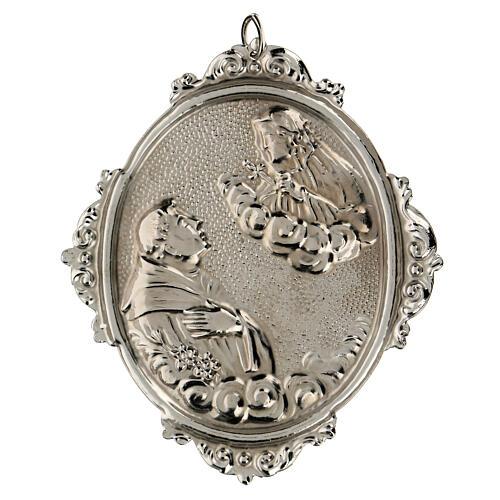 Medallón cofradías S. Antonio con Virgen Dolorosa 2