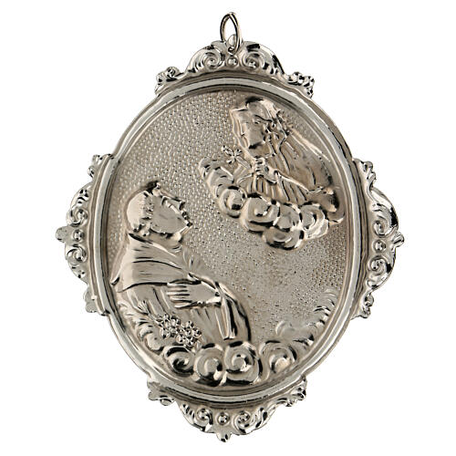 Médaillon pour confrérie St Antoine avec Notre-Dame des Sept Douleurs