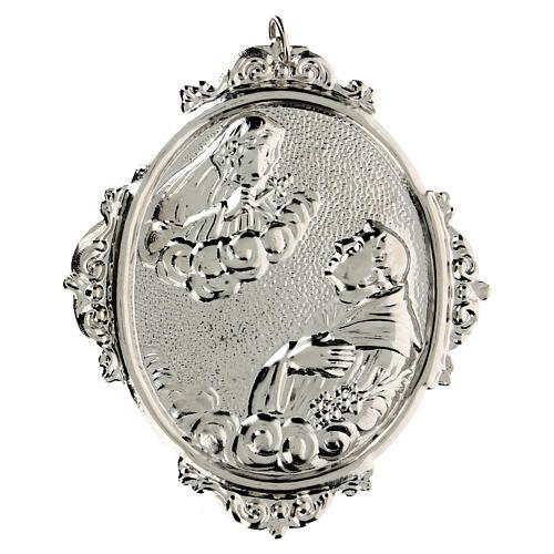 Medalhão irmandade S. António e Nossa Senhora das Dores