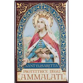 Magnete  Sant' Elisabetta oro s1