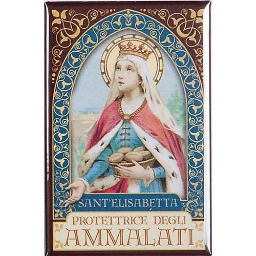 Magnete  Sant' Elisabetta oro 1