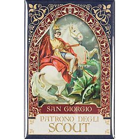 Saint George badge, gold s1