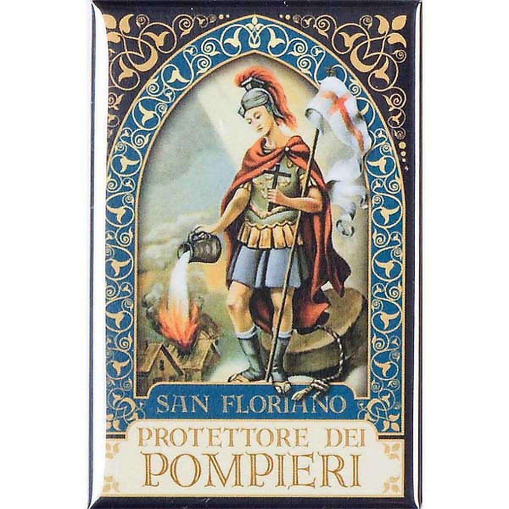 Saint Floriano badge, gold 3