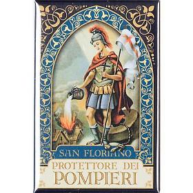 Saint Floriano badge, gold s1