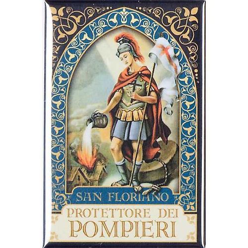 Saint Floriano badge, gold 1