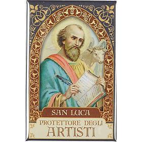 Saint John maria Vianney plaque, gold s2