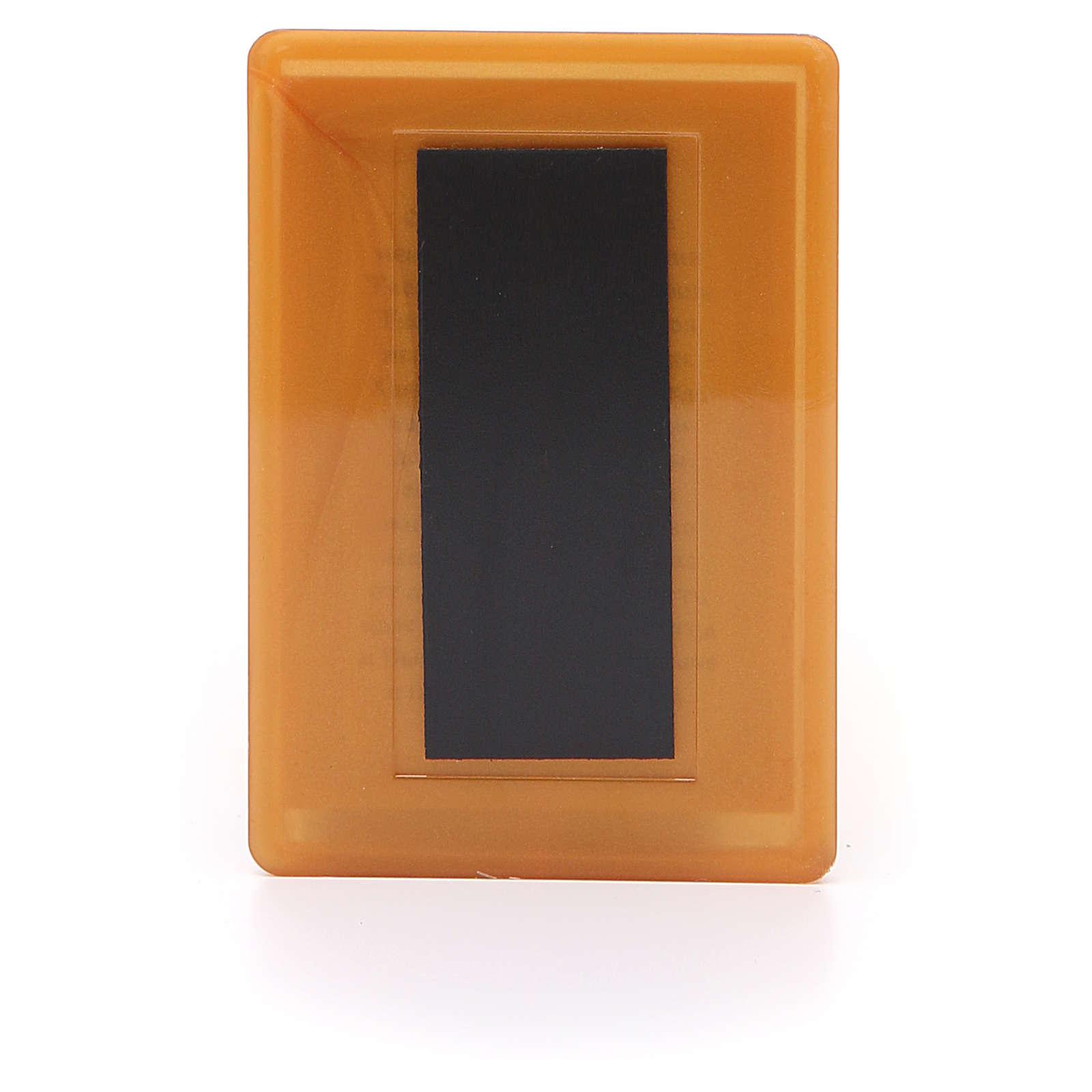 Magnete russo plexiglass Pantocratore 10x7 3