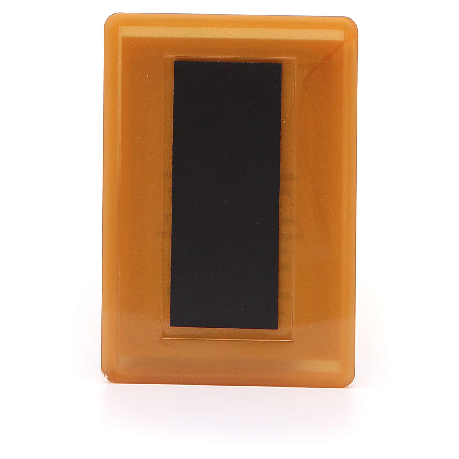 Magnete Russia plexiglass Placa la mia tristezza 10x7 3