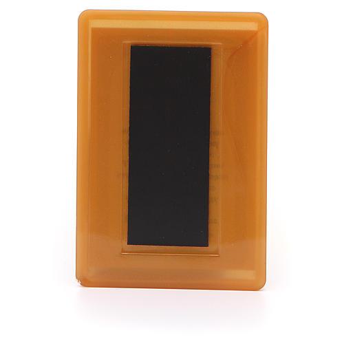 Magnete Russia plexiglass Placa la mia tristezza 10x7 2