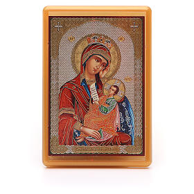 Religious Magnets: Magnet plexiglass russian Placate my Sadness 10x7cm
