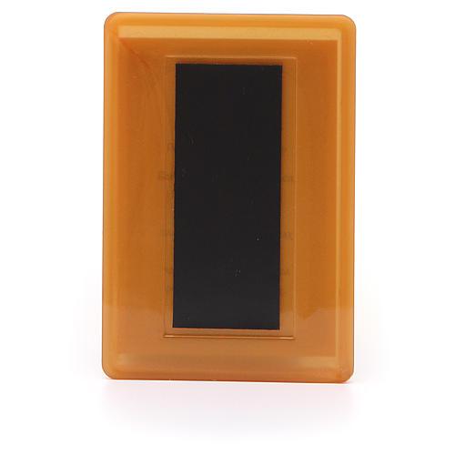 Magnet plexiglass russian Hope to Desperates 10x7cm 2