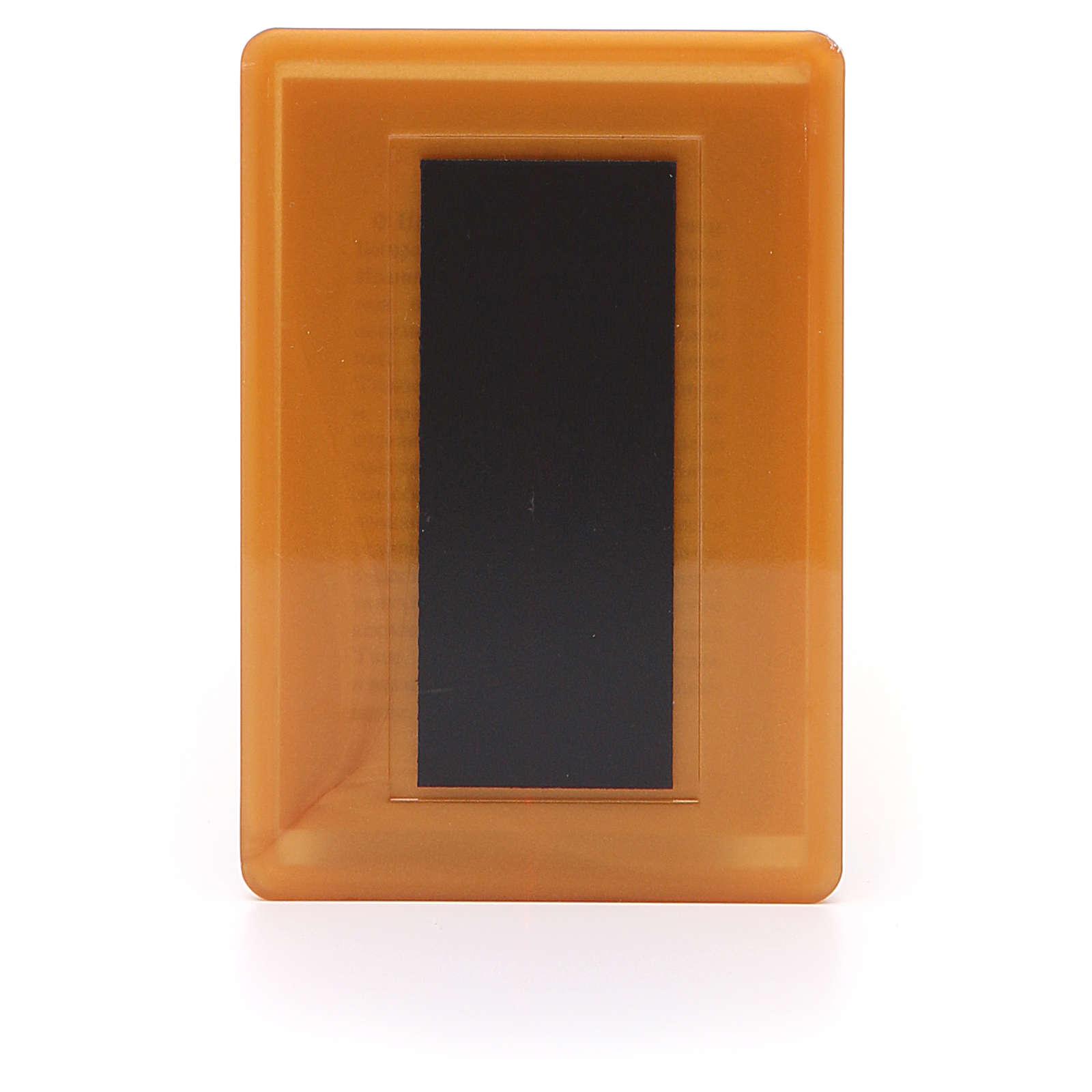 Magnet plexiglass russian Three Hands 10x7cm 3
