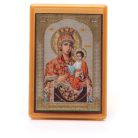 Religious Magnets: Magnet plexiglass russian Self-painted 10x7cm