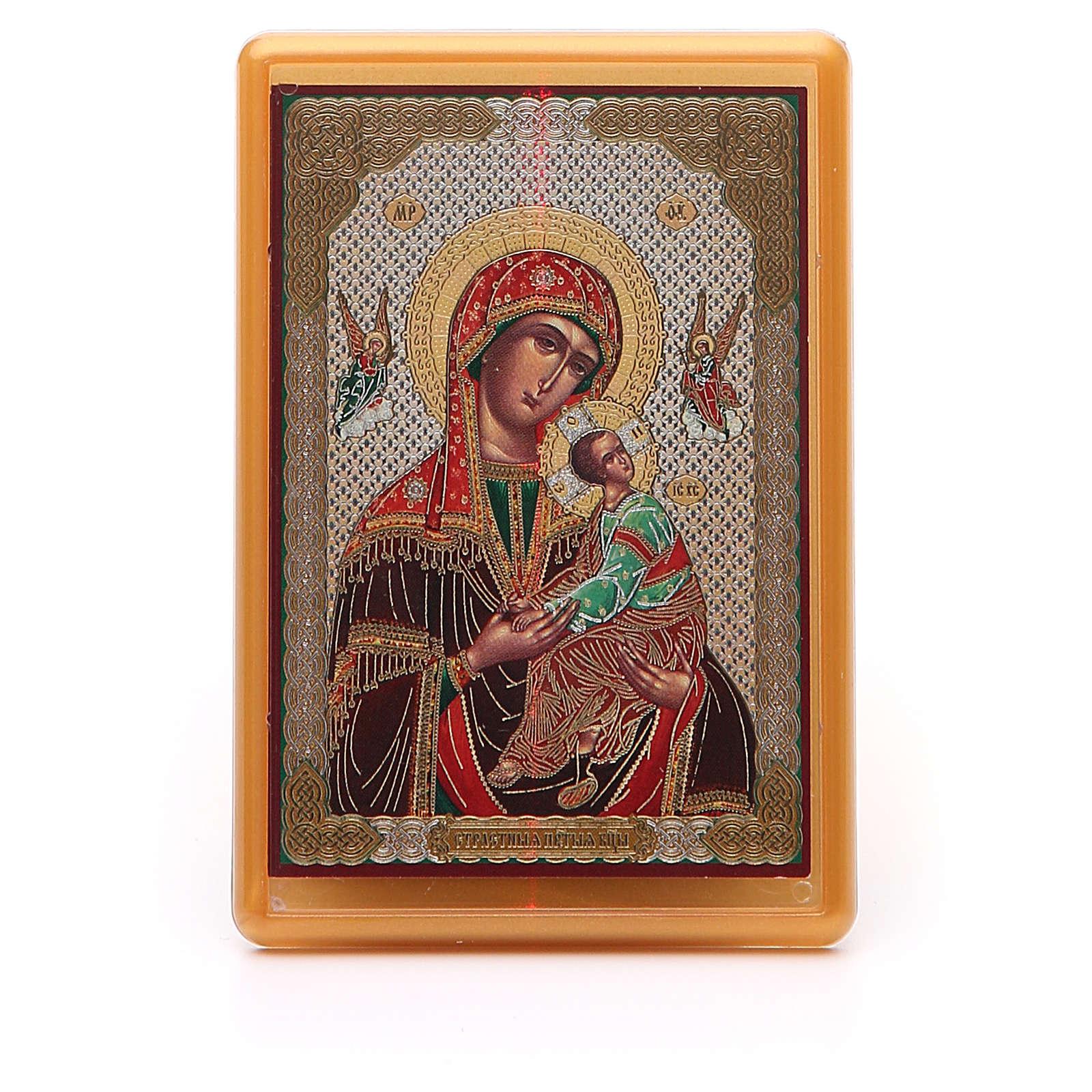 Magnet plexiglass russian Passional 10x7cm 3