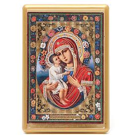 Magnet Virgin Mary Zhirovitskaya in plexiglass, 10x7cm s1