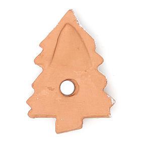 Imán terracota Árbol Navidad s2
