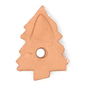Magnet terracotta Christmas Tree s2