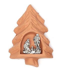 Ímanes de Santos, Nossa Senhora e Papas: Íman terracota árvore