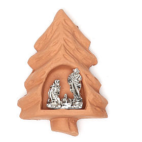 Religious Magnets: Magnet terracotta Tree