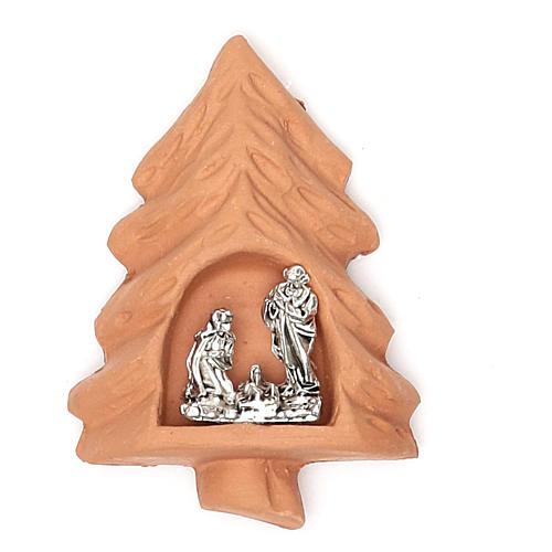 Magnet terracotta Tree 1
