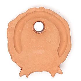 Magnete terracotta ghirlanda s2