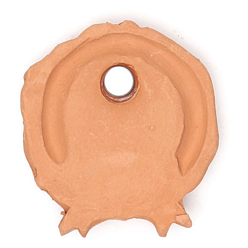 Magnet of Terracotta Wreath 2