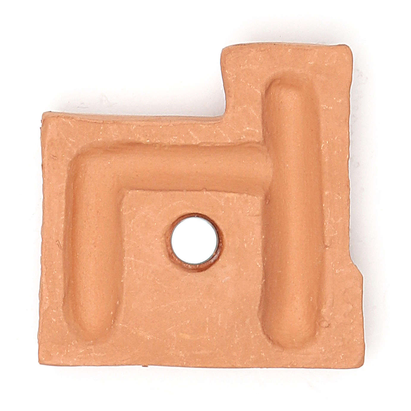 Magnete terracotta castello 3