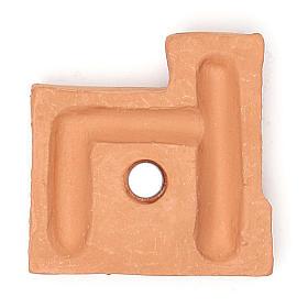 Magnete terracotta castello s2