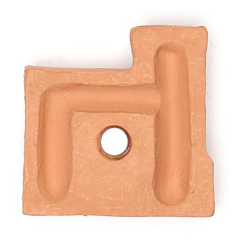 Magnete terracotta castello 2