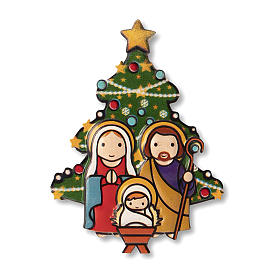 Religious Magnets: Christmas Magnet with It is Christmas every time you smile prayer