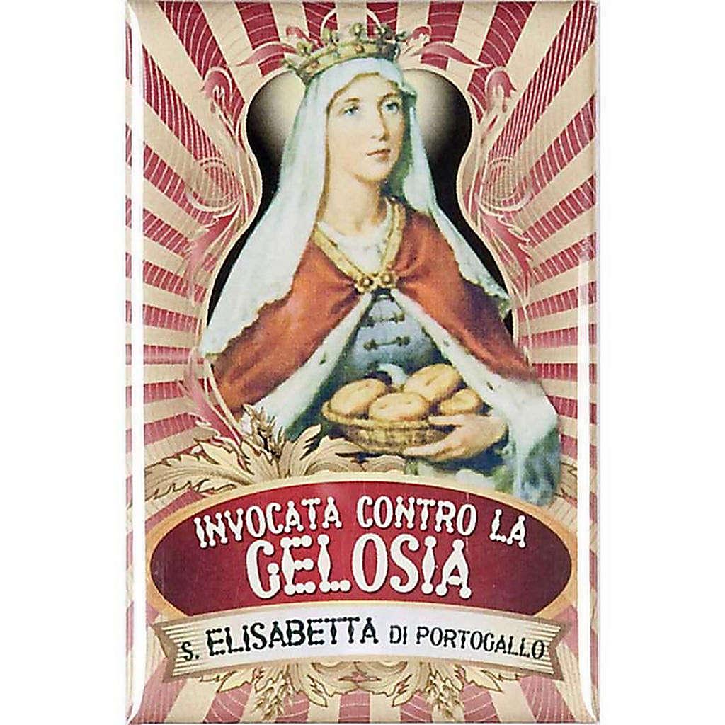 Saint Elisabeth from Portugal badge, lux 3